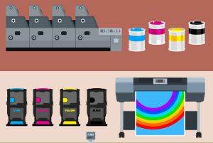 印刷方式イメージ図